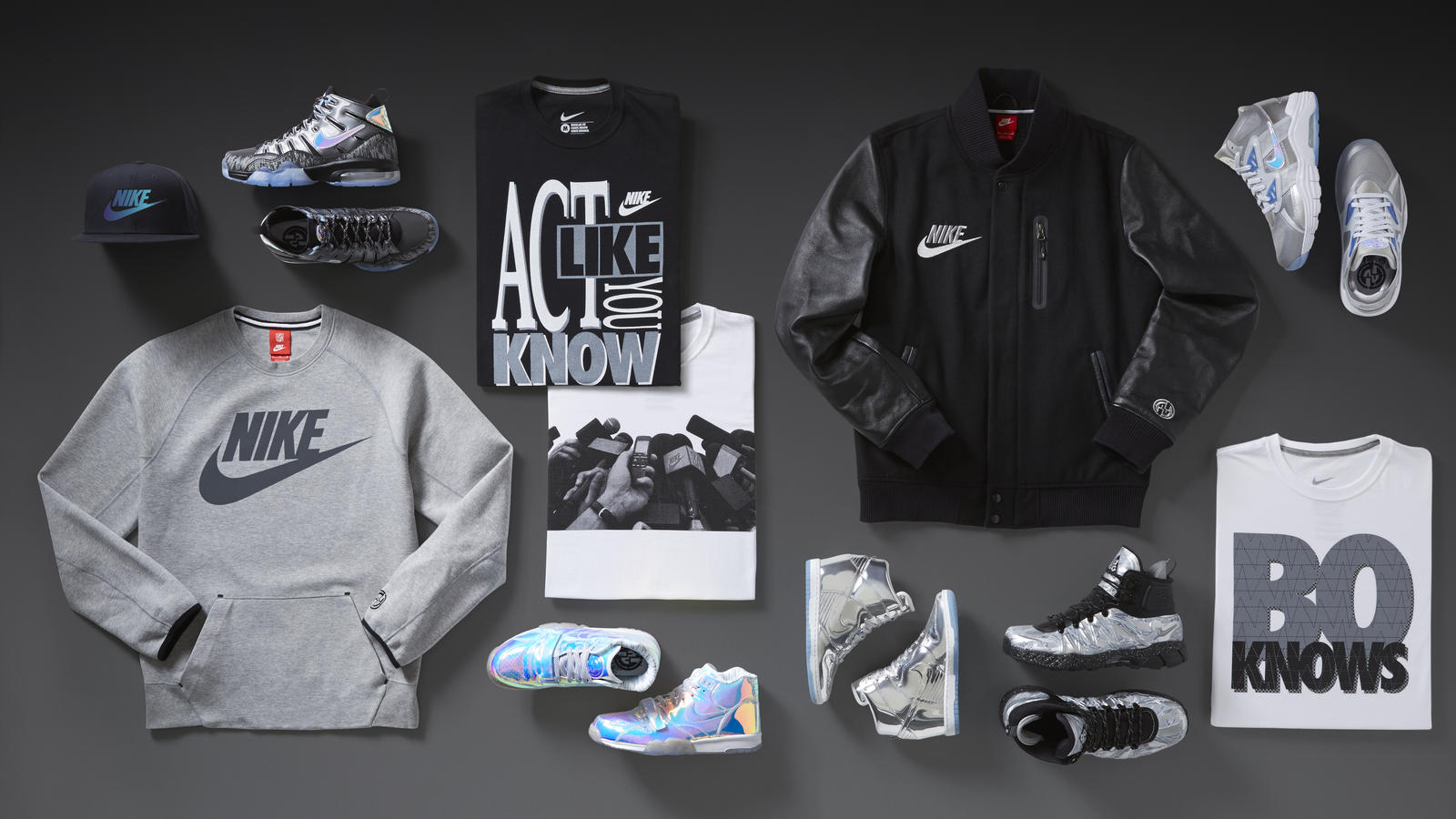 Nike Digital NSW NikeKnows Laydown Cllctn V2 Hd 1600