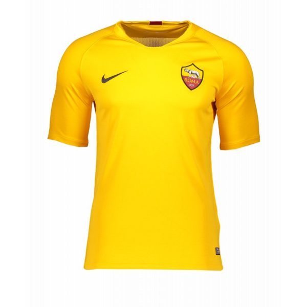 Nike As Rom Trainingsshirt Kurzarm Gelb F739 Replicas T Shirts International Ao5156