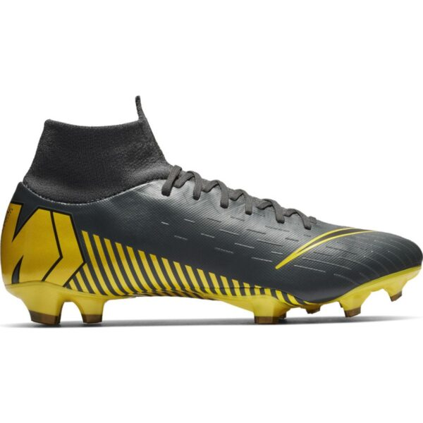 Football Shoes Nike Mercurial Superfly 6 Pro Fg M Ah7368 070 Grey Black 2000×2000